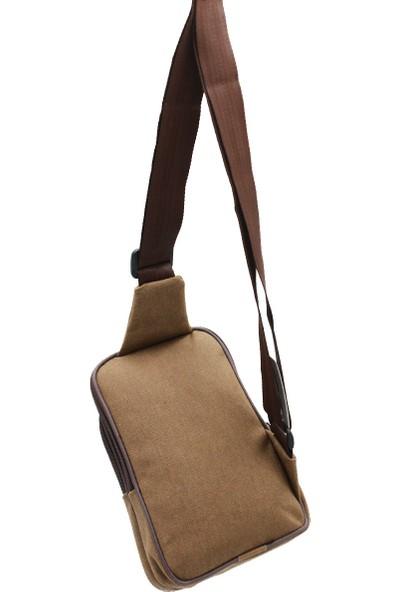 Newish Polo N1010 Body Bag Erkek Göğüs Çantası Kahve