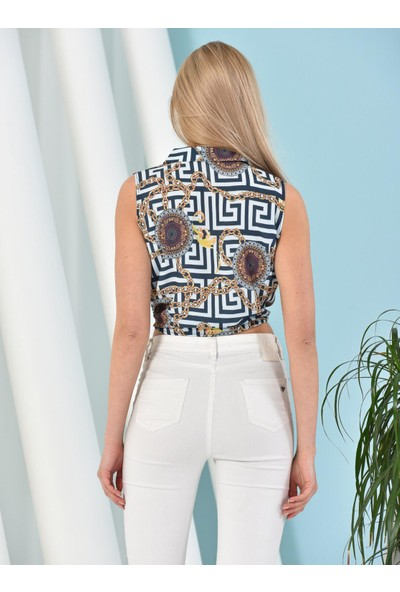 Xiyan Kadın Kısa Kolu Gömlek