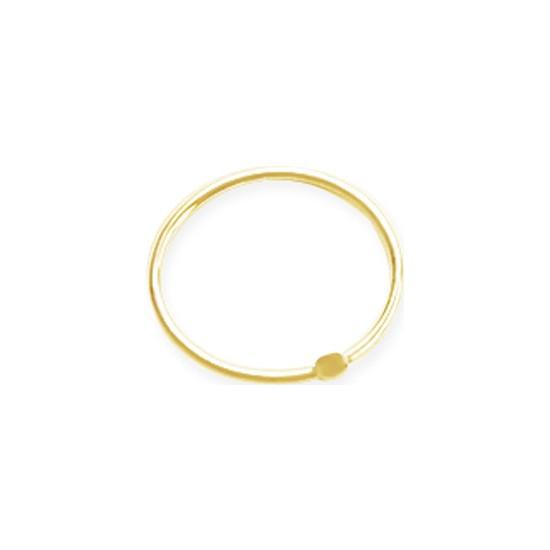 Altın Sepeti Altın Halka Piercing Hızma