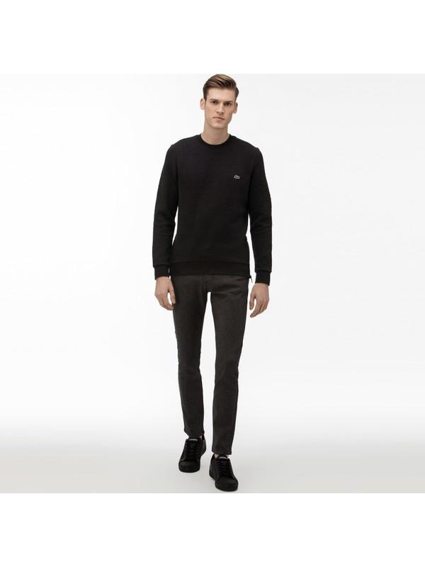 Lacoste Erkek Slim Fit Denim Lacivert Pantolon HH0952.52M