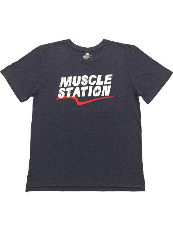 Musclestation Toughman Workout Fitness Erkek Tshirt M