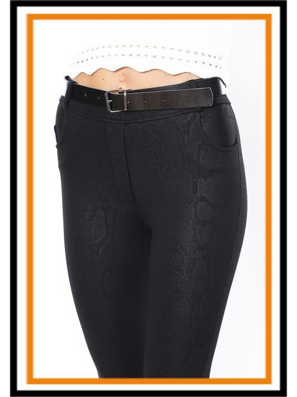 Secret Story Skinny Story Yüksek Bel Toparlayıcı Pantolon - Tayt Anakonda S