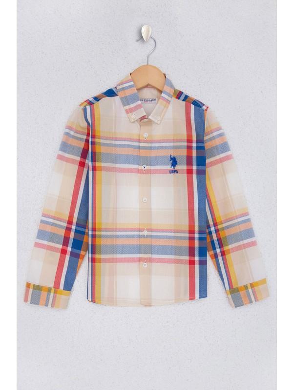 U.S. Polo Assn. Erkek Çocuk Gömlek Uzunkol 50219432-Vr039
