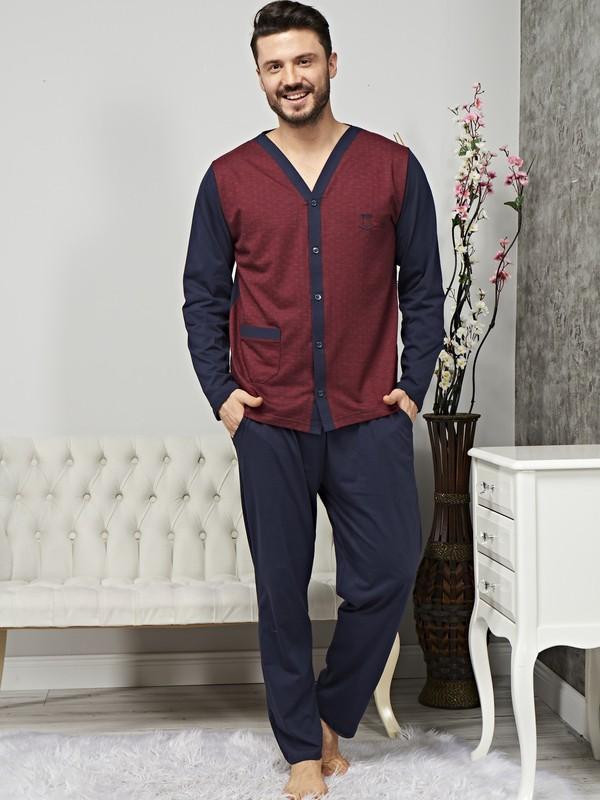 Çelebi 496 Erkek Yazlık Kısa Kol Pijama Takım