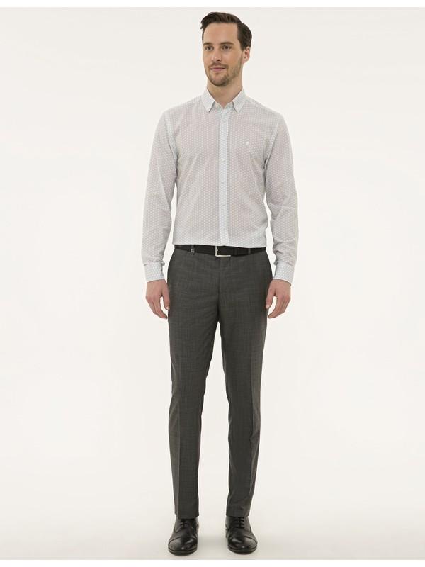 Pierre Cardin Erkek Füme Slim Fit Pantolon 50229763-VR058