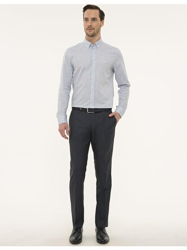 Pierre Cardin Lacivert Slim Fit Pantolon 50230064-VR033
