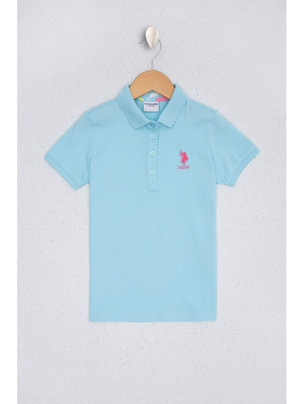 U.S. Polo Assn. Kız Çocuk T-Shirt 50220421-VR007