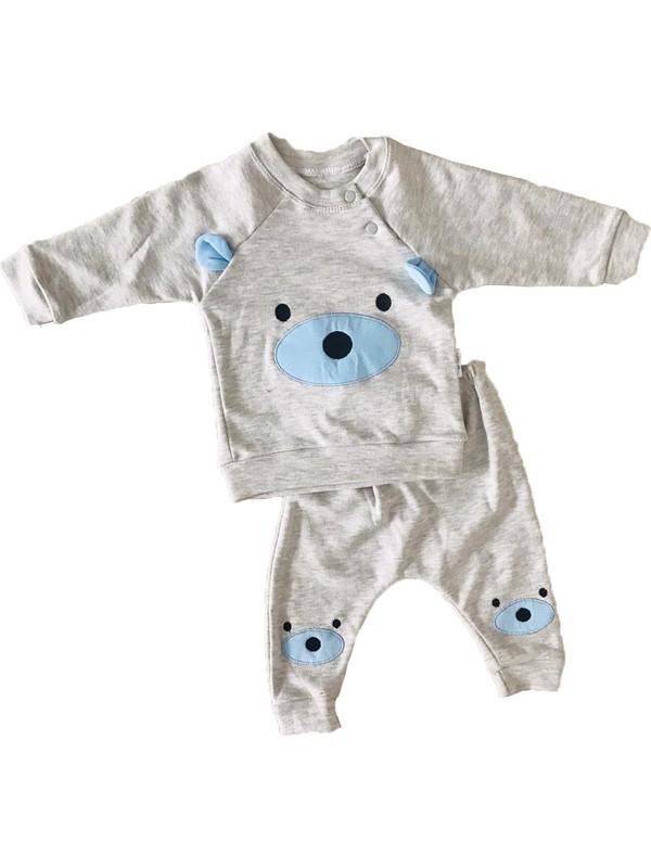 Minilay Bebek Takım Ayıcık Pamuk