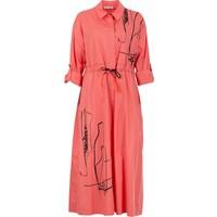 Bize Fashion 2290 Kadın Elbise Mercan