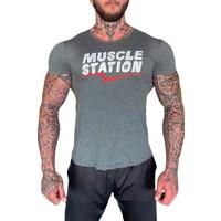 Musclestation Toughman Workout Fitness Erkek Tshirt