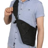 Byhakan Gk11 Çapraz Askılı Göğüs Ve Sırt Çantası Body Bag Çanta Siyah