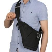 Byhakan Gk11 Çapraz Askılı Göğüs Ve Sırt Çantası Body Bag Çanta Siyah Gri
