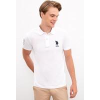 U.S. Polo Assn. Erkek Beyaz T-Shirt 50218831-Vr013