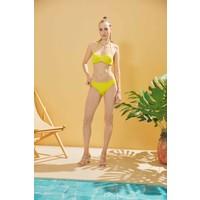 Sunlife Sarı Büzgülü Bikini