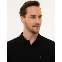 Pierre Cardin Siyah Regular Fit T-Shirt 50225513-VR046
