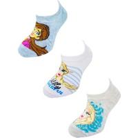 Çorap Evi Lisanslı Disney Frozen Pamuklu Sneaker Çocuk Çorap