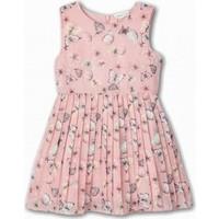 Name İt Kız Çocuk Kelebek Baskılı Elbise