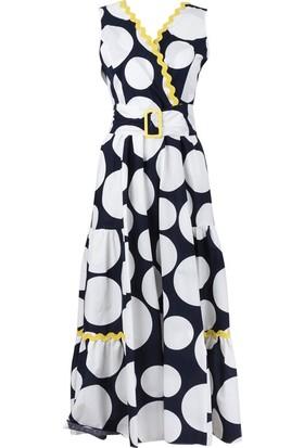 Bize Fashion 2300 Kadın Elbise Sarı