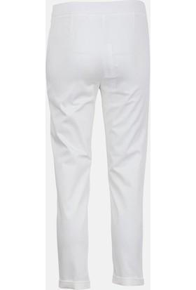 Bize Fashion 5217 Kadın Pantolon Ekru