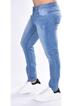 Black Steel Denim Slim Fit Yoğun Destroy 20068 Pantolon