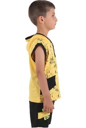 Teqne Kids Kısa Kol Kapuşonlu Takım