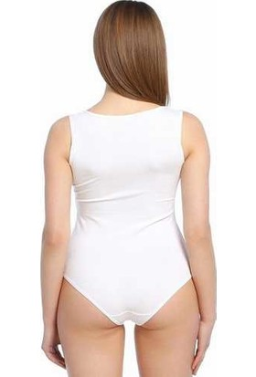 Focuswear 2'li Paket Geniş Askılı Çıtçıtlı Lyc. Kadın Body
