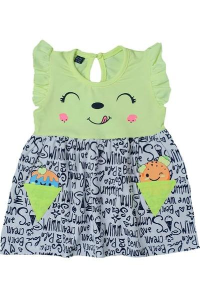 Miniworld Dondurma Baskılı Elbise