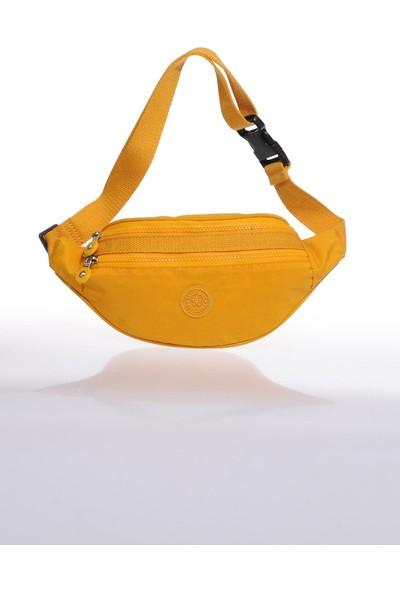 Smart Bags SMB3030-0086 Hardal Kadın Bel Çantası