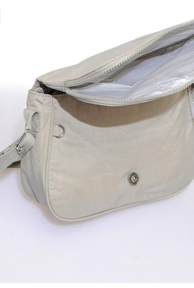 Smart Bags SMB3056-0083 Ice Gri Kadın Çapraz Çanta