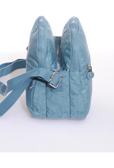 Smart Bags SMB3058-0050 Buz Mavisi Kadın Çapraz Çanta
