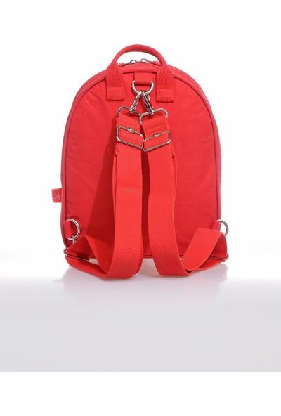 Smart Bags SMB3061-0019 Kırmızı Kadın Sırt Çantası