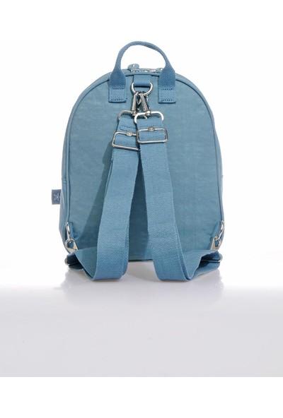 Smart Bags SMB3061-0050 Buz Mavisi Kadın Sırt Çantası