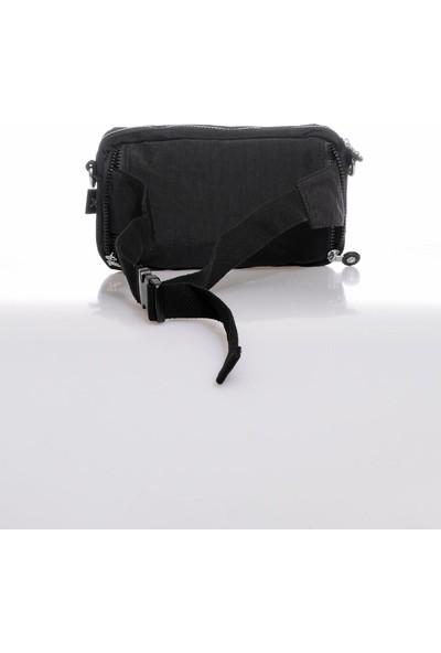 Smart Bags SMB3062-0001 Siyah Kadın Bel ve Çapraz Çanta