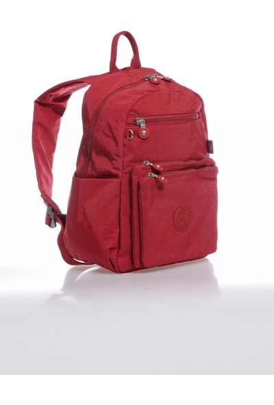 Smart Bags SMB3068-0021 Bordo Kadın Sırt Çantası