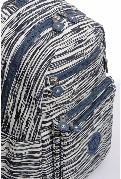 Smart Bags SMB3068-0126 Bej/laci Kadın Sırt Çantası