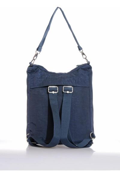 Smart Bags SMB3069-0033 Lacivert Kadın Omuz ve Sırt Çantası