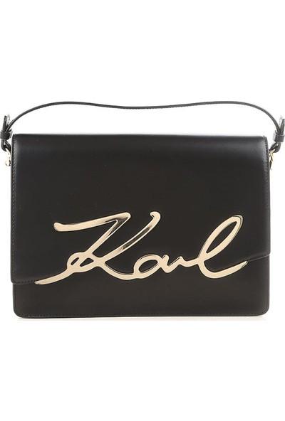 Karl Lagerfeld 81KW3049 Siyah Kadın Omuz Çantası