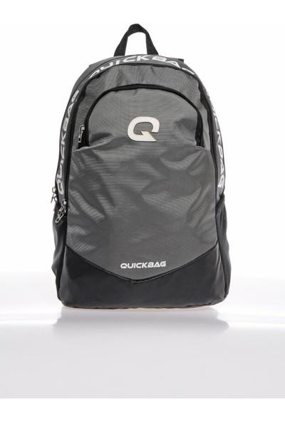 Quıckbag Q3038 Gri Unisex Sırt Çantası