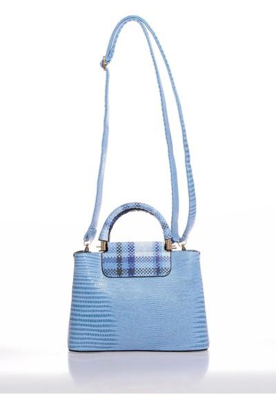 Sergio Giorgianni Luxury SG0716 Mavi Kadın Omuz Çantası