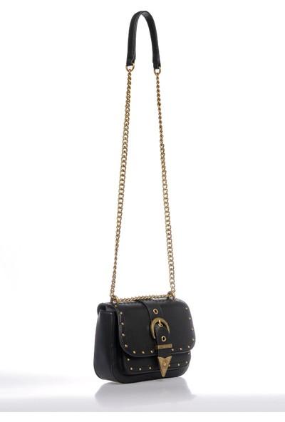 Versace J. Couture E1 Vzabd1 Siyah Kadın Omuz Çantası