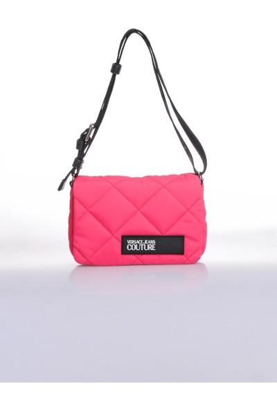 Versace J. Couture E1 Vzbbl2 Pembe Kadın Omuz Çantası