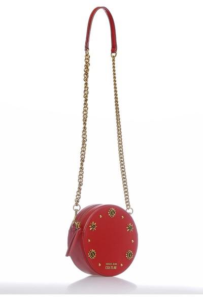 Versace J. Couture E1 Vzbbo3 Kırmızı Kadın Omuz Çantası