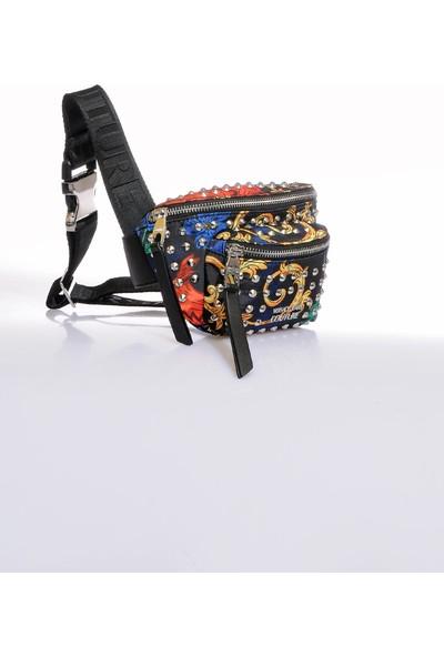 Versace J. Couture E1 Vzbbx1 Multi Kadın Bel Çantası
