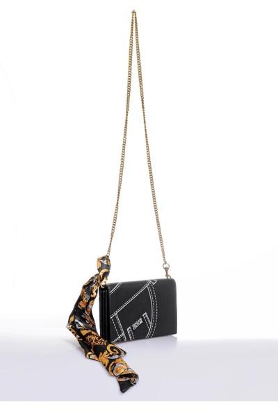 Versace J. Couture E3 Vzapa5 Siyah Kadın Omuz Çantası