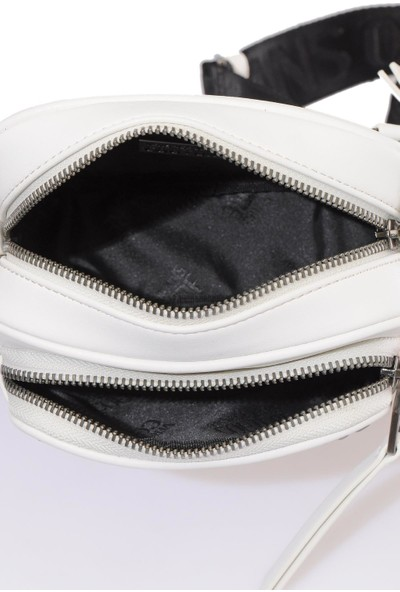 Versace J. Couture E1 Vzabb5 Beyaz Kadın Omuz Çantası