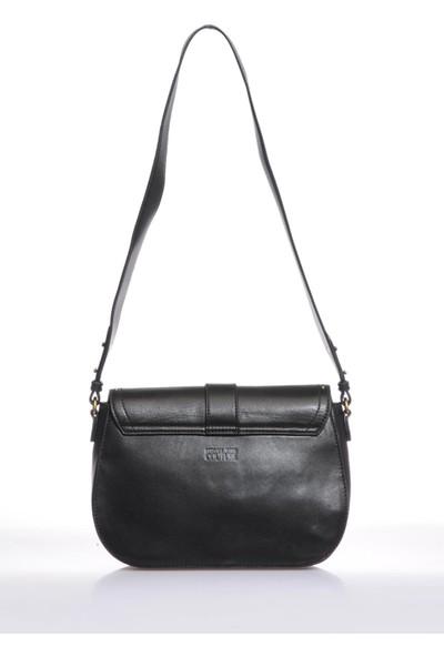 Versace J. Couture E1 Vzabd2 Siyah Kadın Omuz Çantası