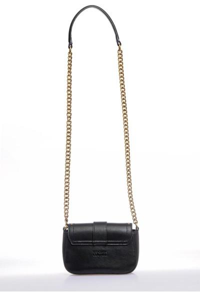 Versace J. Couture E1 Vzabd4 Siyah Kadın Omuz Çantası