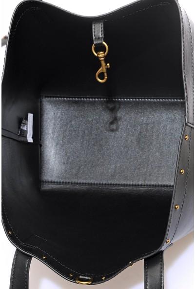 Versace J. Couture E1 Vzabd5 Siyah Kadın Omuz Çantası