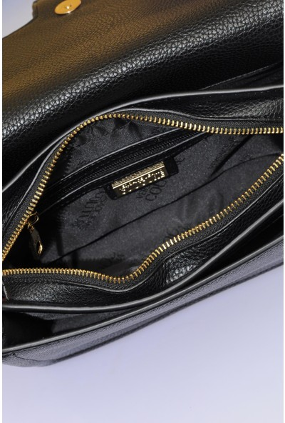 Versace J. Couture E1 Vzabf1 Siyah Kadın Omuz Çantası
