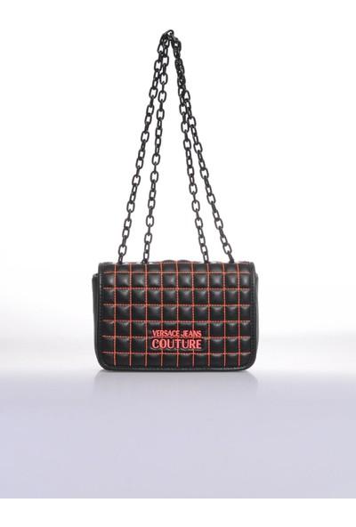 Versace J. Couture E1 Vzabq1 Siyah Kadın Omuz Çantası